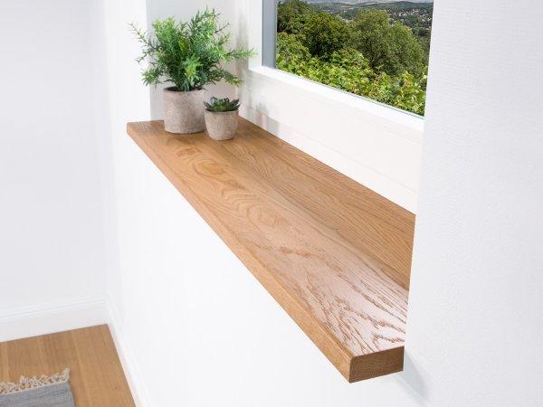 Fensterbank Eiche im schönen natürlichem Look