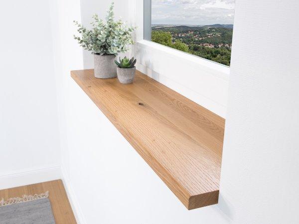 Fensterbank Holz - Konfigurator Eiche